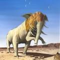 Lionphant 50cm x 65cm